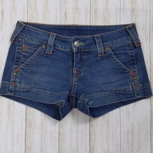 True Religion Denim Shorts sz 29